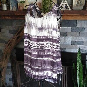 Olive & Oak Boho Dress Top Blouse